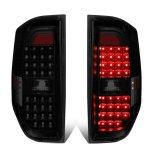 Toyota Tundra 2014-2020 Black Smoked LED Tail Lights