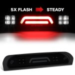 2009 Dodge Ram 2500 Black Smoked Tube Flash LED Third Brake Light