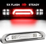2005 Dodge Ram Clear Tube Flash LED Third Brake Light