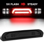 2006 Dodge Ram Smoked Tube Flash LED Third Brake Light