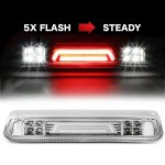 2004 Ford F150 Clear Tube Flash LED Third Brake Light