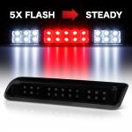 2004 Ford F150 Black Smoked Flash LED Third Brake Light