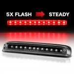 2010 Ford F450 Super Duty Black Flash LED Third Brake Light