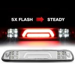 2014 Ford F550 Super Duty Tube Clear Flash LED Third Brake Light