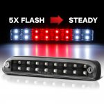 Ford F250 Super Duty 1999-2007 Black Flash LED Third Brake Light
