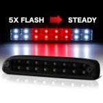 Ford F250 Super Duty 1999-2007 Black Smoked Flash LED Third Brake Light