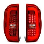 Toyota Tundra 2014-2018 C-Tube LED Tail Lights