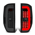 2014 Toyota Tundra Smoked C-Tube LED Tail Lights