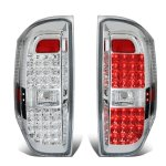 2014 Toyota Tundra Clear LED Tail Lights