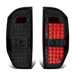 2014 Toyota Tundra Smoked LED Tail Lights
