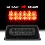 Chevy S10 Regular Cab 1994-2003 Smoked Flash LED Third Brake Light