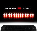 Toyota Tundra 2000-2006 Black Smoked Flash LED Third Brake Light
