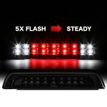 Toyota Tundra 2007-2018 Black Smoked Flash LED Third Brake Light