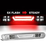 2007 GMC Sierra Clear Tube Flash LED Third Brake Light