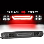2007 GMC Sierra Smoked Tube Flash LED Third Brake Light