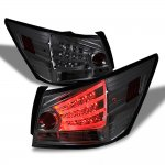 Honda Accord Sedan 2008-2012 Smoked LED Tail Lights