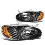 Kia Sephia 1998-2001 Black Headlights