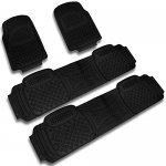 2004 Jeep Grand Cherokee Black Floor Mats