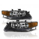 2007 Acura TSX Black Projector Headlights