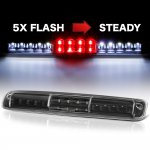 2000 GMC Sierra Black Flash LED Third Brake Light