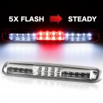 Chevy Silverado 2500HD 2001-2006 Clear Flash LED Third Brake Light