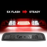 GMC Sierra 3500HD 2015-2018 Smoked Tube Flash LED Third Brake Light