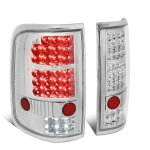 Ford F150 2004-2008 Clear LED Tail Lights