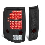 Ford F150 2004-2008 Smoked LED Tail Lights
