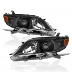 Toyota Sienna 2011-2017 Black Projector Headlights