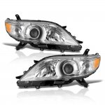 Toyota Sienna 2011-2017 Projector Headlights