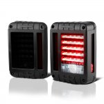 2010 Jeep Wrangler JK Smoked LED Tail Lights