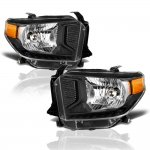 2014 Toyota Tundra Black Headlights