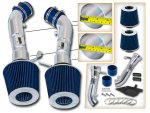 Infiniti G37 2008-2013 Polished Cold Air Intake with Blue Air Filter