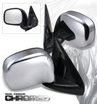 2002 Dodge Ram OEM Style Chrome Side Mirrors