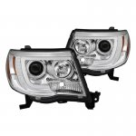 Toyota Tacoma 2005-2011 Tube DRL Projector Headlights