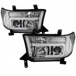 2008 Toyota Tundra Tube DRL Projector Headlights