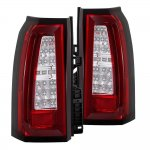 Chevy Suburban 2015-2018 Tube Full LED Tail Lights