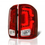 GMC Sierra 3500HD Dually 2015-2018 Custom LED Tail Lights