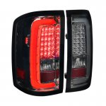 GMC Sierra 3500HD 2015-2018 Smoked LED Tail Lights