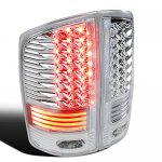 Dodge Ram 3500 2003-2006 Clear LED Tail Lights