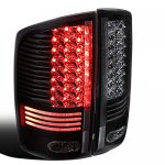 Dodge Ram 2500 2003-2006 Black LED Tail Lights