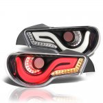 Scion FRS 2013-2014 Black Tube LED Tail Lights
