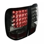 Ford Ranger 2006-2011 Smoked LED Tail Lights