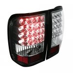 Ford Ranger 2006-2011 Black LED Tail Lights