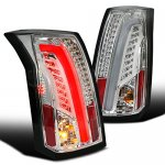 Cadillac CTS 2003-2007 Clear Tube LED Tail Lights