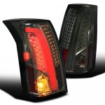Cadillac CTS 2003-2007 Smoked Tube LED Tail Lights