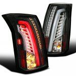 Cadillac CTS 2003-2007 Black Tube LED Tail Lights