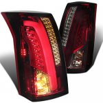 Cadillac CTS 2003-2007 Tinted Tube LED Tail Lights