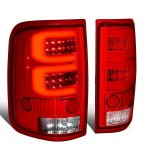 2004 Ford F150 Custom Tube LED Tail Lights