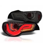 Subaru BRZ 2013-2015 JDM LED Tail Lights Smoked